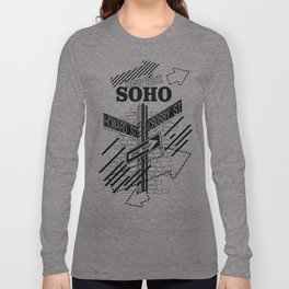 SoHo, New York Long Sleeve T-shirt