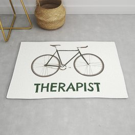 Therapist Bicycle Rug