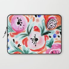 Tropical Floral Laptop Sleeve