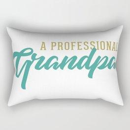 A Professional Grandpa Rectangular Pillow