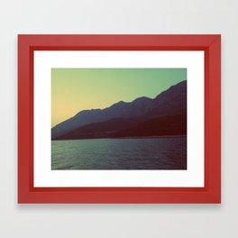Hvar Framed Art Print