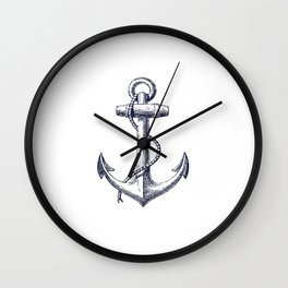 Anchor dS Wall Clock