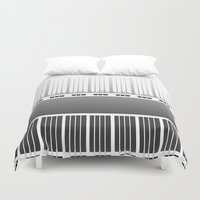 bar Duvet Covers featuring Piano bar by dominiquelandau