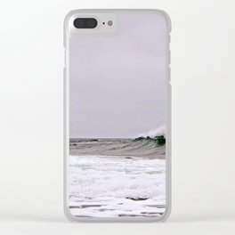 The Wave and the Wind Clear iPhone Case