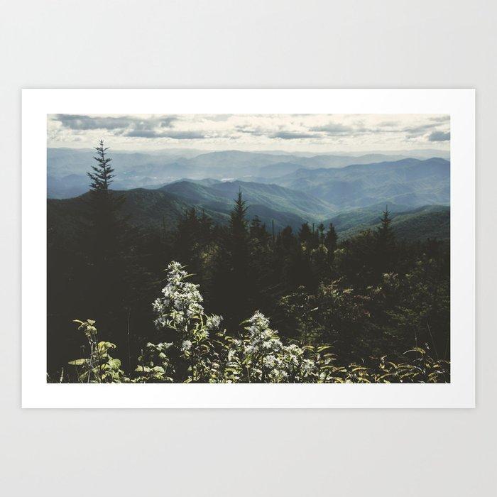 Smoky Mountains - Nature Photography Kunstdrucke