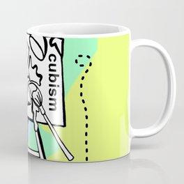Smack the Canvas - Zine Page Coffee Mug