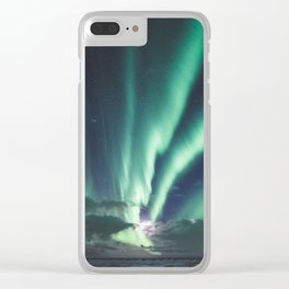 Aurora - Landscape and Nature Photography Clear iPhone Case