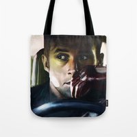 drive Tote Bags featuring Drive by Jordan Grimmer