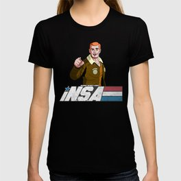 iN.S.A - iNternet Security Agency T-shirt