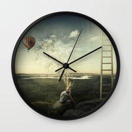 artist imagination Wall Clock