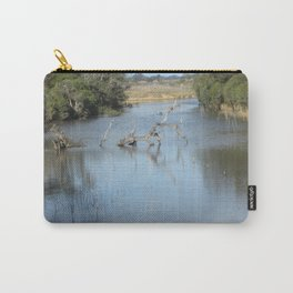 Skeleton Tree In A River Carry-All Pouch