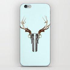 GUN SKULL iPhone Skin