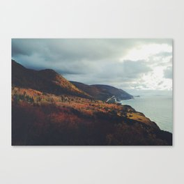 Autumn Coast Canvas Print