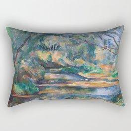 The Brook by Paul Cézanne Rectangular Pillow