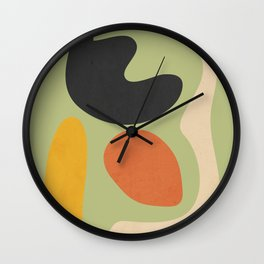 Abstract Shapes 40 Wall Clock