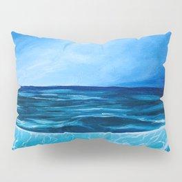Lit Ocean Shore Pillow Sham
