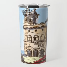 Sketches from Italy - San Marino Travel Mug