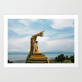 Myanmar – Naga on the Hillside Art Print