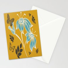 spring  butterfly mustard Stationery Cards