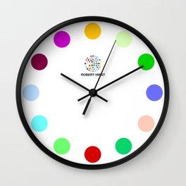 Robert Hirst Spot Clock 11 Wall Clock