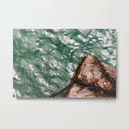 The Plastic Water Metal Print