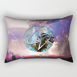 Ral Zarek the Lightning Bender Rectangular Pillow
