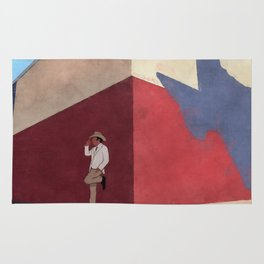 The White Hat Texan - Texas Mural - Better Call Saul Rug
