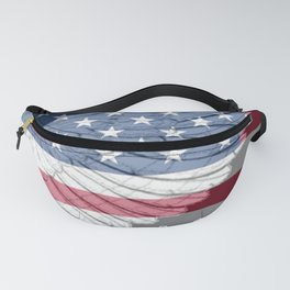 """ USA Wing And Flag "" Fanny Pack"