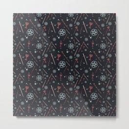 Tarot Card Suits Metal Print
