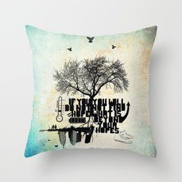 H.O.P.E Throw Pillow
