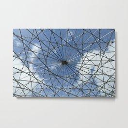 Caged Sky Metal Print