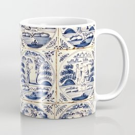 Dutch Delft Blue Tiles Coffee Mug