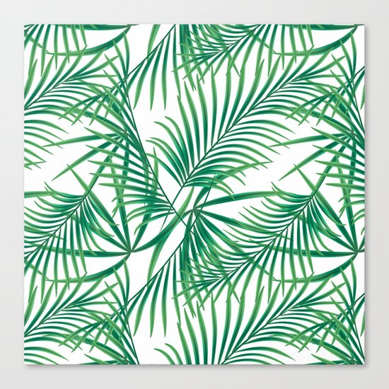 Tropical pattern.2 Canvas Print