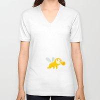 bug V-neck T-shirts featuring bug by simon oxley idokungfoo.com