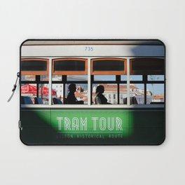 Lisbon Portugal tramway Laptop Sleeve