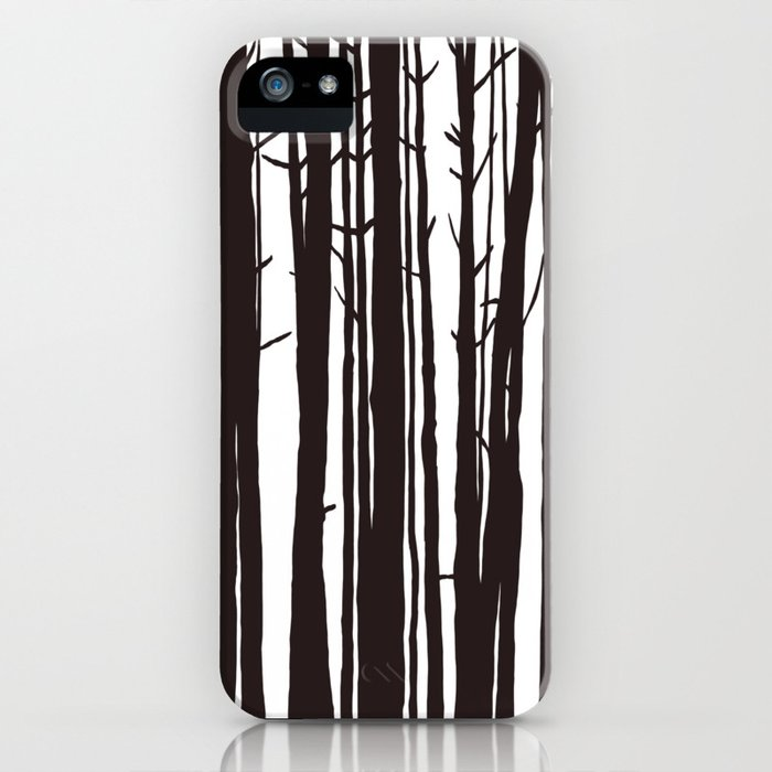 The Trees and The Forest iPhone Case