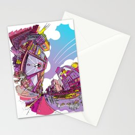 Dotonbori Extra Color in Another Dimension Stationery Cards