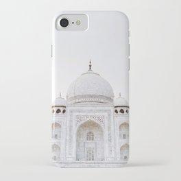 taj mahal in agra iPhone Case