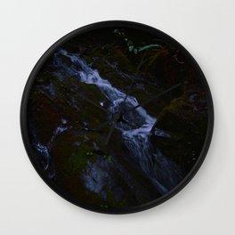 Magickal Waterfall Wall Clock