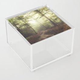 german rain forest Acrylic Box