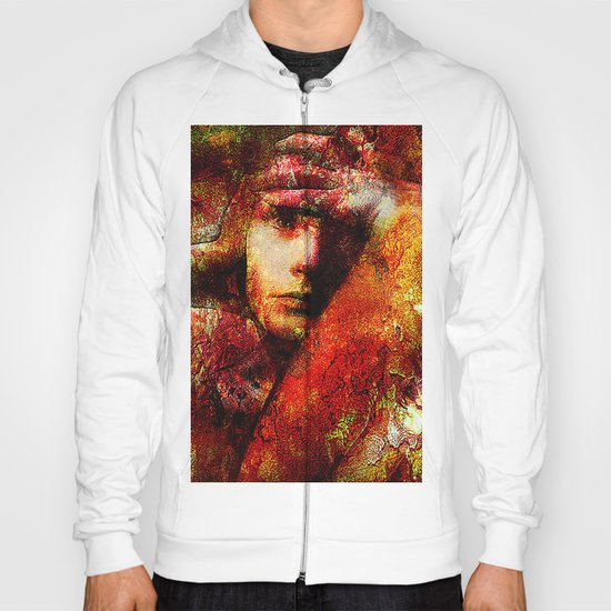 Spirit torments   (This Artwork is a collaboration with the talented artist Timothy Davis ) Hoody