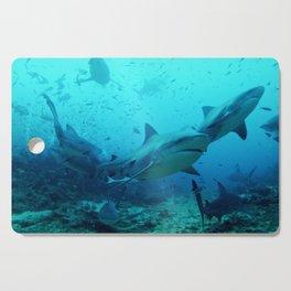 magnificent bull sharks Cutting Board