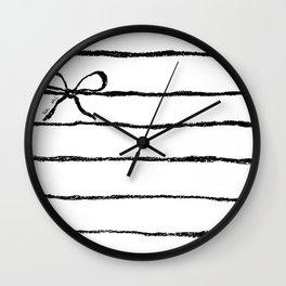 Perky jail Wall Clock