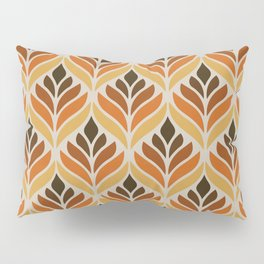 Retro Flower Pattern Pillow Sham