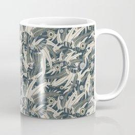 embroidered feathers Coffee Mug