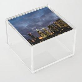 Skyline Cloudy Sunset Acrylic Box