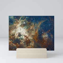 Tarantula Nebula Galaxy Space Photo Mini Art Print