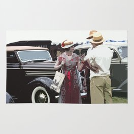 At The Races, 1937 Style Rug