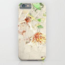 Macelas - Small flowers digitally stylized iPhone Case