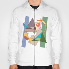 bird and heart two tribes Hoody